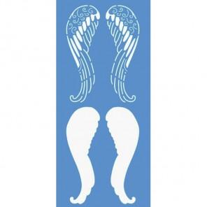 Крылья ангела Трафарет пластиковый Marabu