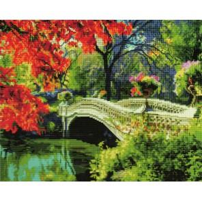 Осень в парке Алмазная мозаика вышивка Painting Diamond