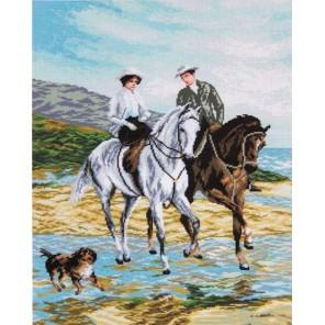 Прогулка на лошадях Алмазная мозаика вышивка Painting Diamond