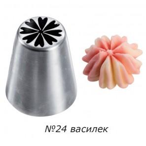 Василек №24 Насадка кондитерская Tulip Nozzles