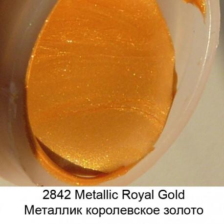 2842 Королевское золото Металлик Эмалевые Акриловые краски Enamels FolkArt Plaid
