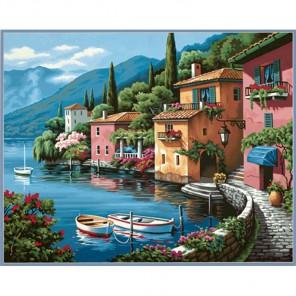 Городок Раскраска (картина) по номерам Dimensions