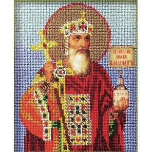 Святой Владимир Набор для вышивки бисером Кроше