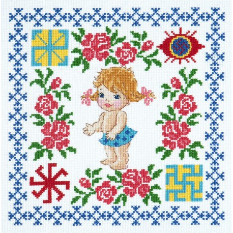 Здоровье доченьки Набор для вышивания Чудесная игла