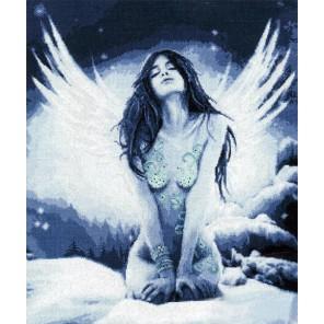 Снежный ангел Набор для вышивания Золотое Руно