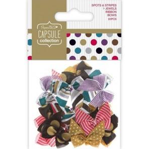 Spots & Stripes Jewels Банты для скрапбукинга, кардмейкинга Docrafts
