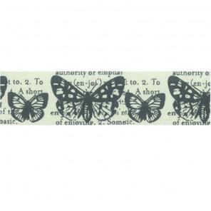 Бабочки Декоративный полупрозрачный скотч Stamperia