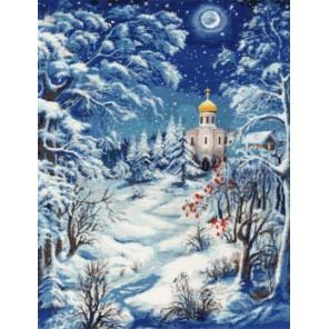 Волшебница-зима Набор для вышивания Золотое Руно