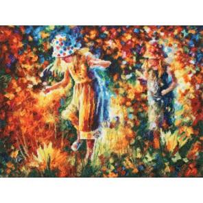 Две сестры Набор для вышивания Золотое Руно