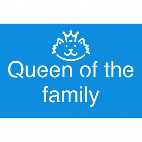 Queen off the Family Трафарет 10х15 см Marabu