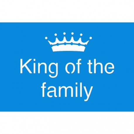 king of the family Трафарет 10х15 см Marabu