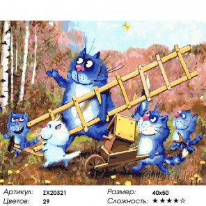 Весёлая семейка Раскраска картина по номерам на холсте