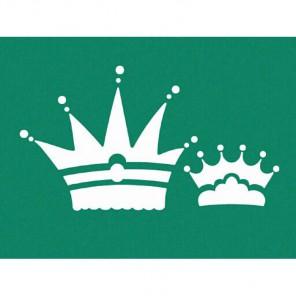 Короны 3D Трафарет 15х20 см Marabu
