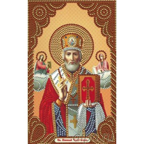Икона Николай Чудотворец Алмазная мозаика вышивка Painting Diamond