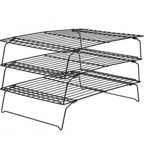 Решетка  для охлаждения выпечки складная трехуровневая Верный рецепт Wilton ( Вилтон )