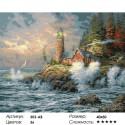 Бушующая стихия Раскраска картина по номерам на холсте Белоснежка