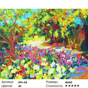 Розы. Южная терраса дворца Раскраска ( картина ) по номерам на холсте Белоснежка