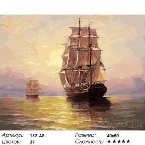 По водной глади Раскраска картина по номерам на холсте Белоснежка