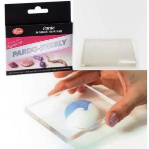Доска акриловая Инструмент для пластики Viva Pardo Swirly