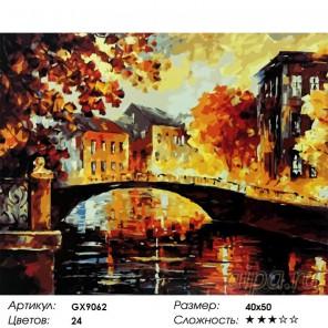 Река воспоминаний  Раскраска картина по номерам акриловыми красками на холсте