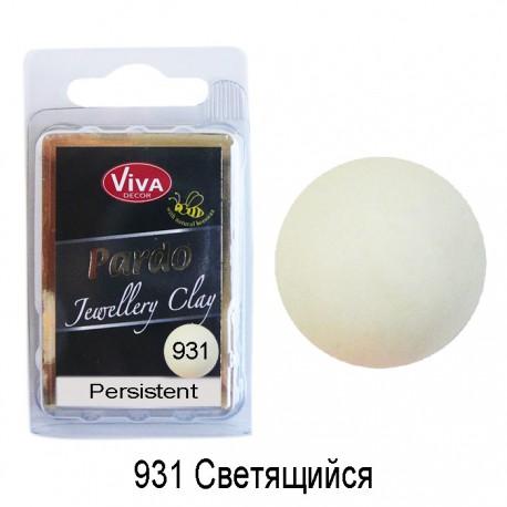 931 Светящийся Пардо Неон Полимерная глина ( Пластика ) Viva Pardo Jewellery Clay