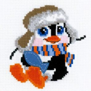 Пингвинёнок Набор для вышивания Риолис