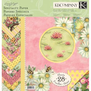 Весенний бум Набор бумаги для скрапбукинга, кардмейкинга K&Company