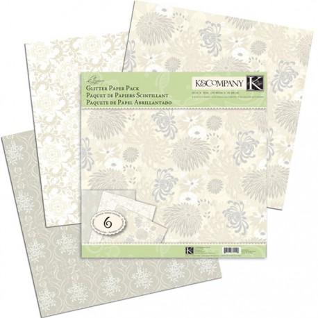 Элегантность блестящая Набор бумаги для скрапбукинга, кардмейкинга K&Company