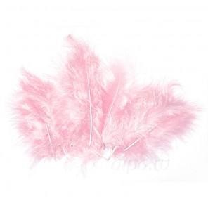 Розовые перья марабу Efco