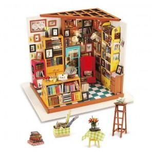 Книжный магазинчик Набор для создания миниатюры румбокс