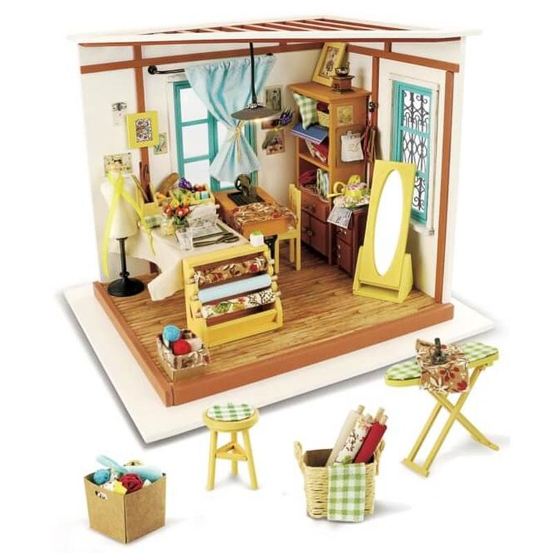 Домик для кукольного ателье