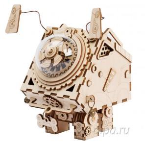 Сеймур Стимпанк с музыкальными и световыми эффектами 3D Пазлы Деревянные
