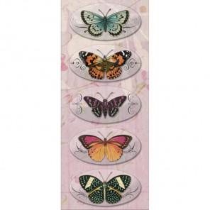 Бабочки Брелочки для скрапбукинга, кардмейкинга K&Company