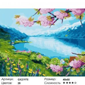 Чудесная весна Раскраска картина по номерам на холсте