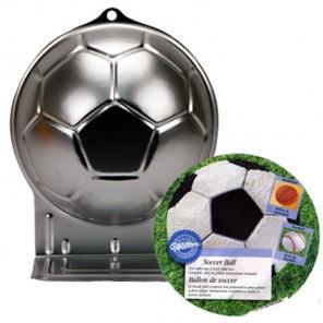 Футбольный мяч Форма для выпечки металлическая Wilton ( Вилтон )
