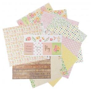Magic garden Набор бумаги односторонней для скрапбукинга, кардмейкинга Арт Узор