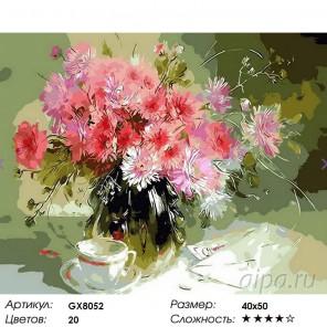 Сказочный натюрморт Раскраска картина по номерам акриловыми красками на холсте