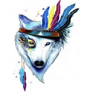 Собака-талисман Алмазная мозаика на подрамнике