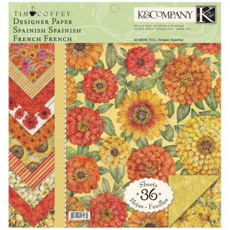 Сад 31*31см Набор бумаги для скрапбукинга, кардмейкинга  K&Company