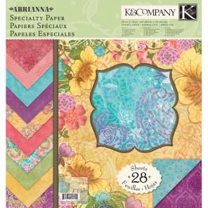 Абрианна специальная 31х31 см Набор бумаги для скрапбукинга, кардмейкинга  K&Company