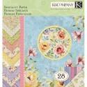Нежный букет специальный 31х31 см Набор бумаги для скрапбукинга, кардмейкинга  K&Company
