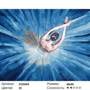 Количество цветов и сложность Гармония Раскраска картина по номерам акриловыми красками на холсте