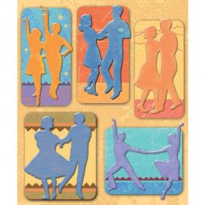 Танцы (Маленькие радости жизни) Стикеры для скрапбукинга, кардмейкинга K&Company