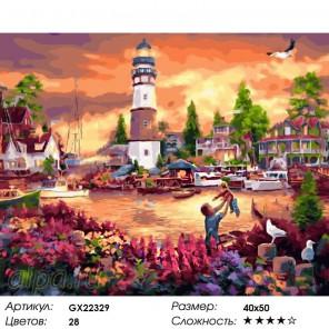 Утопия Раскраска картина по номерам на холсте