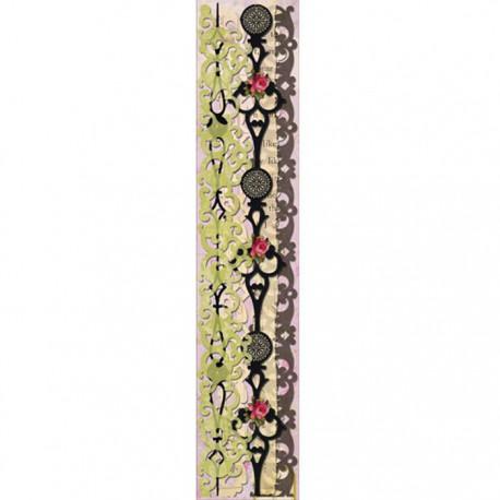 Пергаментная флора и фауна Ленты бумажные для скрапбукинга, кардмейкинга K&Company