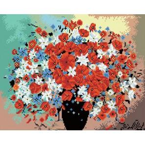 Цветы Алмазная вышивка (мозаика) Molly