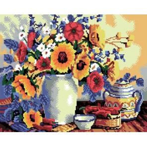 Цветы к завтраку Алмазная вышивка (мозаика) Molly