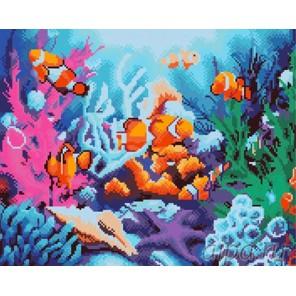 Морские обитатели Алмазная вышивка (мозаика) Molly