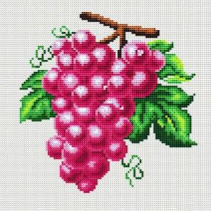 Гроздь винограда Алмазная вышивка (мозаика) Molly