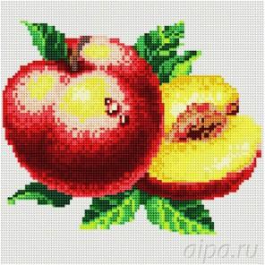 Спелый персик Алмазная вышивка (мозаика) Molly